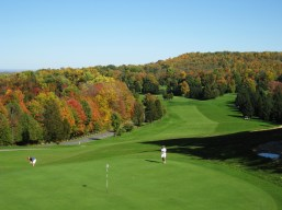 Golf course at Green Lakes State Park, Fayetteville, NY